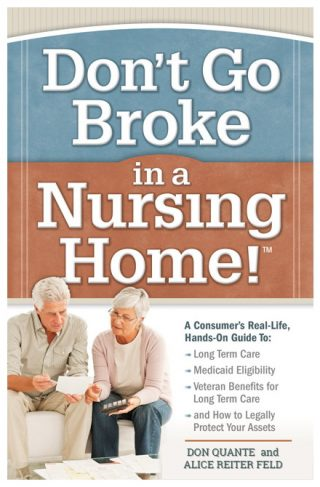 Book: Don't Go Broke in a Nursing Home